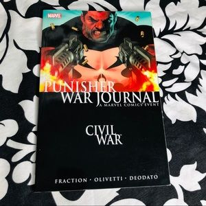 5 for $25| Punisher War Journal: Civil War TPB